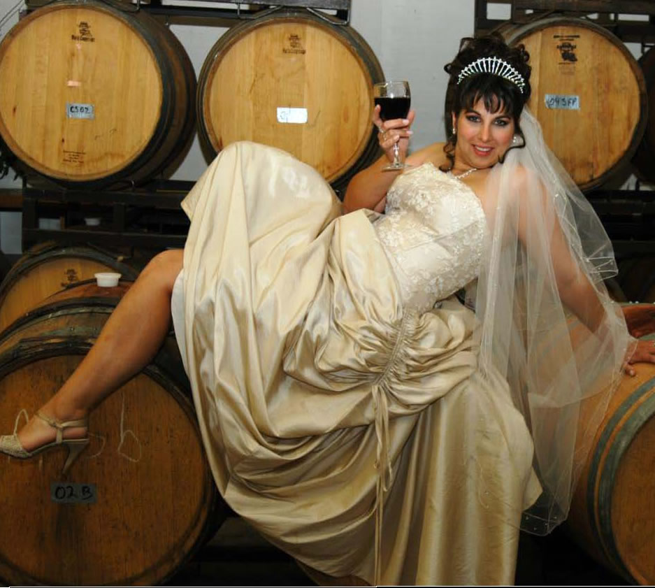 Bride on Barrel